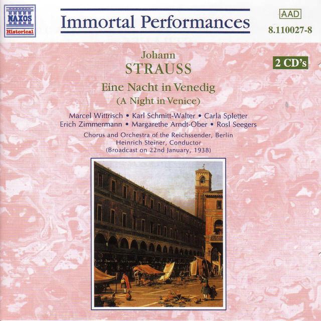 Strauss Ii, J.: A Night in Venice Albumcover