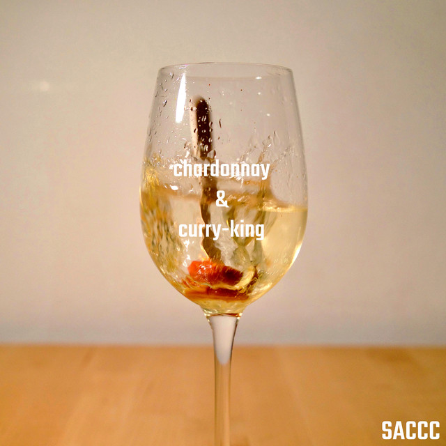 Album cover for Chardonnay & Curry-King by SACCC
