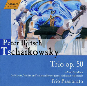 Tchaikovsky: Piano Trio in A Minor, Op. 50 Albumcover