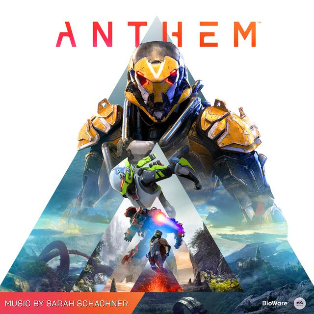 Album cover for Anthem (Original Soundtrack) by Sarah Schachner