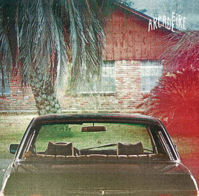 Album cover for The Suburbs by Arcade Fire