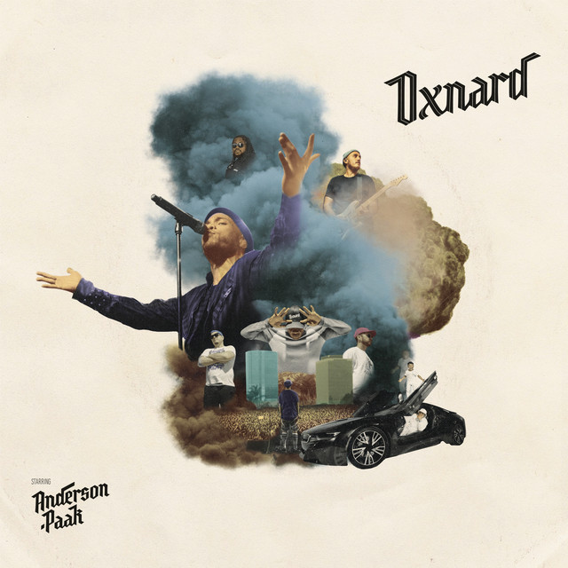 Album cover for Oxnard by Anderson .Paak