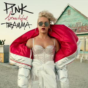 P!nk Beautiful Trauma cover