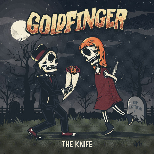 Album cover for The Knife by Goldfinger