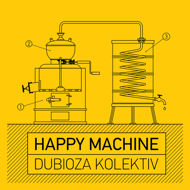 Album cover for Happy Machine by Dubioza kolektiv
