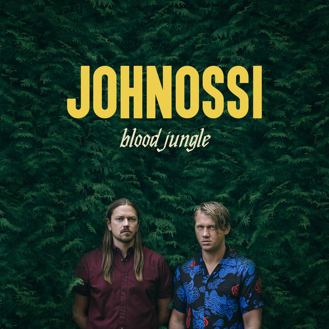 Skivomslag för Johnossi: Blood Jungle
