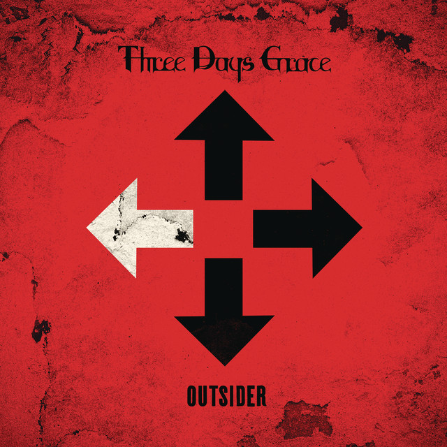 Album cover for Outsider by Three Days Grace