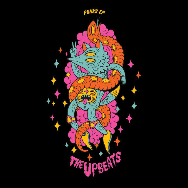 Album cover for Punks EP by The Upbeats