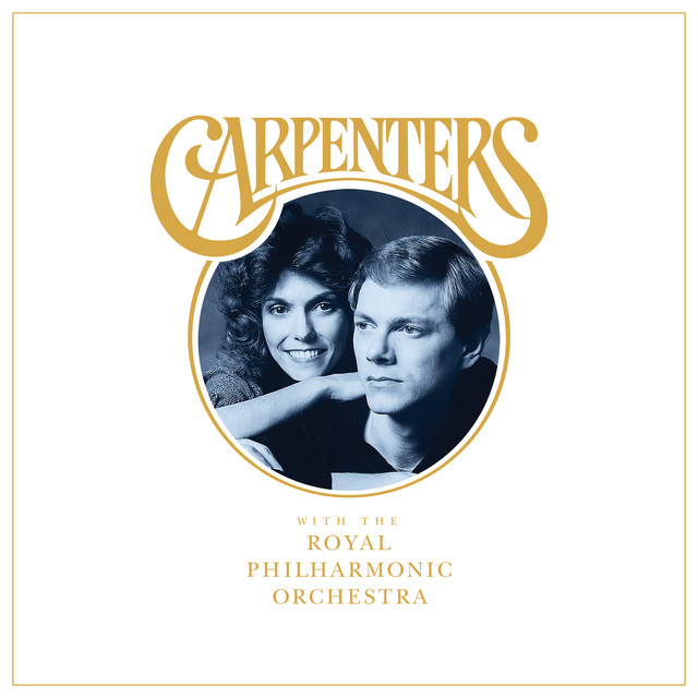 Album cover for Carpenters With The Royal Philharmonic Orchestra by Carpenters, Royal Philharmonic Orchestra