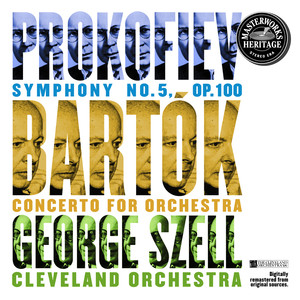 Prokofiev: Symphony No. 5 and Bartók: Concerto for Orchestra Albumcover
