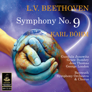 Beethoven: Symphony No. 9 Albumcover
