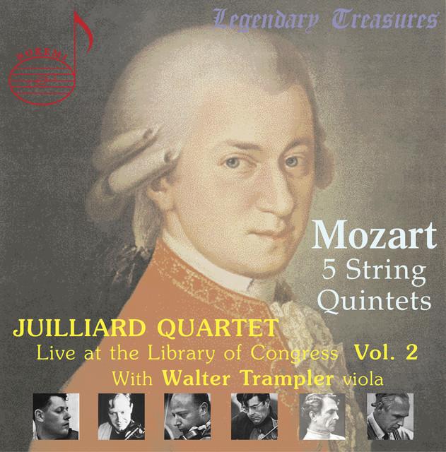 Juilliard Quartet, Vol. 2: Live at Library of Congress – Mozart Quintets