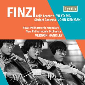 Finzi: Clarinet Concerto & Cello Concerto album