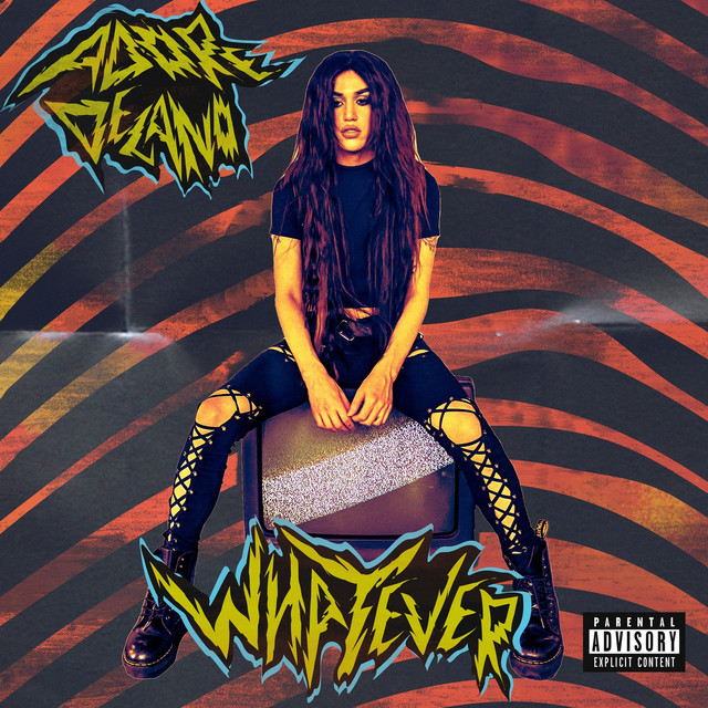 Album cover for Whatever by Adore Delano