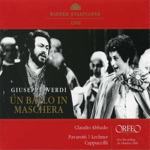 Verdi: Un ballo in maschera (Live) Albümü