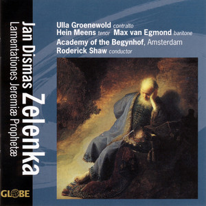 Zelenka: Lamentationes Jeremiae Prophetae Albumcover