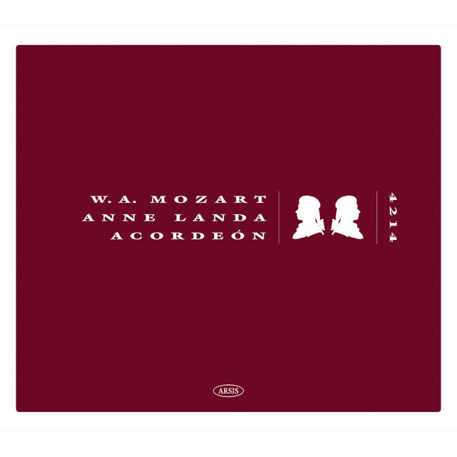 W. A. Mozart - Anne Landa: Acordeón Albumcover