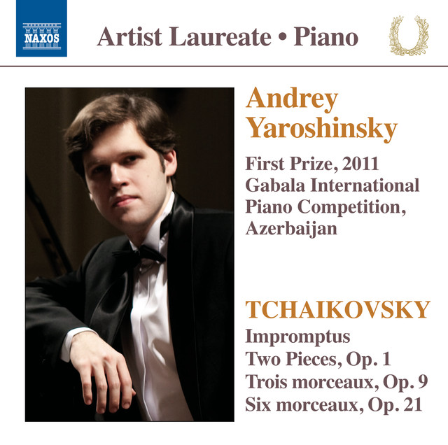 Andrey Yaroshinsky: First Prize, 2011 Gabala International Piano Competition, Azerbaijan Albumcover