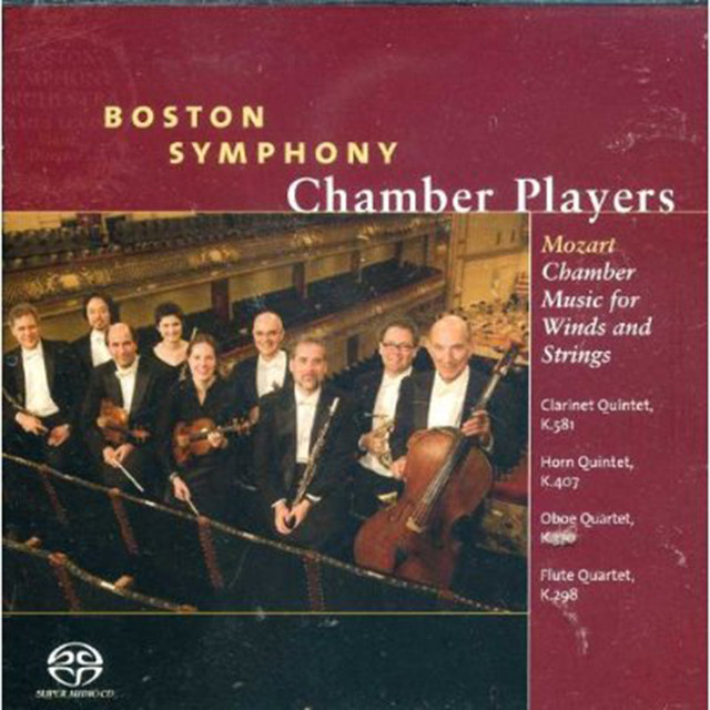 Mozart Chamber Music for Winds and Strings Albumcover