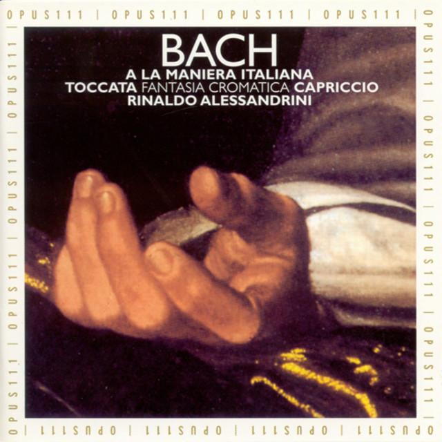 Bach : A la maniera italiana Albumcover
