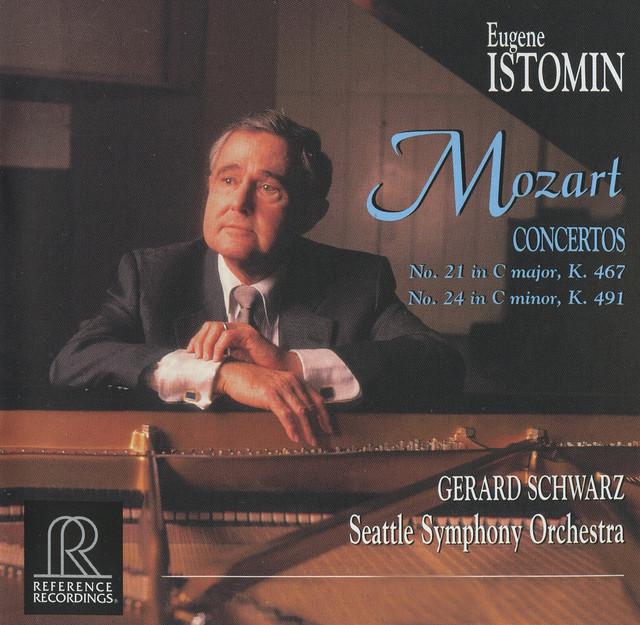Mozart: Piano Concertos Nos. 21 & 24 Albumcover