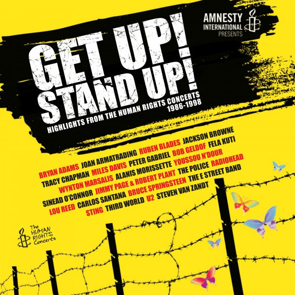 Various Artists Get Up! Stand Up! (Live) [Highlights from the Human Rights Concerts 1986-1998] album cover