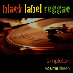 Black Label Reggae-Simpleton-Vol. 15 Albumcover