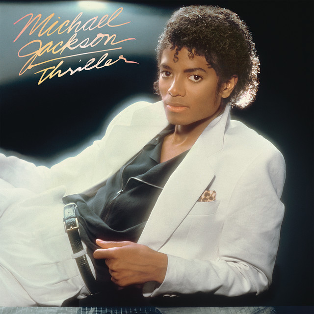 Skivomslag för Michael Jackson: Thriller