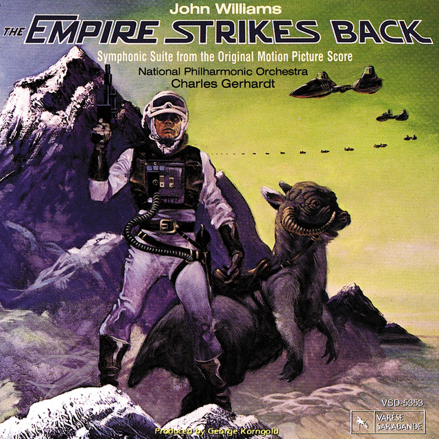 The Empire Strikes Back (Symphonic Suite From The Original Motion Picture Score) Albumcover