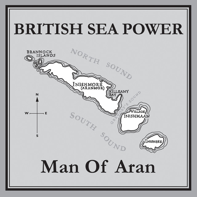Album cover for Man Of Aran by British Sea Power