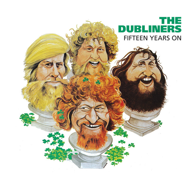 The Dubliners Fifteen Years On album cover