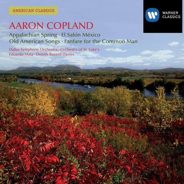 American Classics: Aaron Copland Albumcover