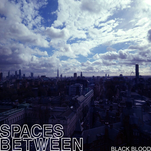 Album cover for Black Blood by Spaces Between