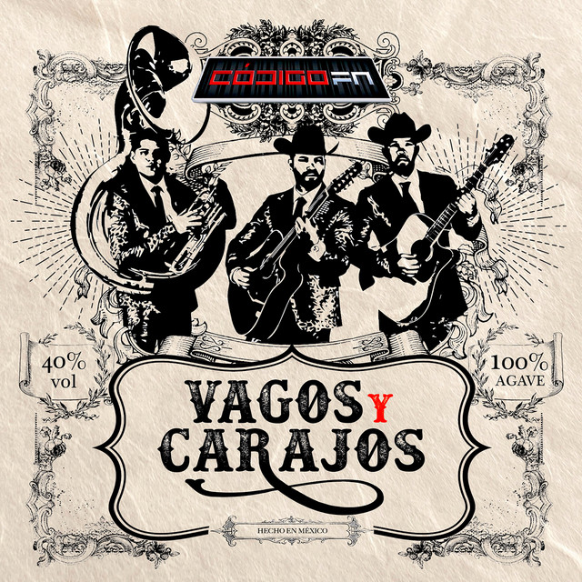 Album cover for Vagos y Carajos by Código FN