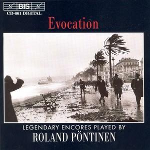 Pontinen, Roland: Evocation - Legendary Encores Albumcover