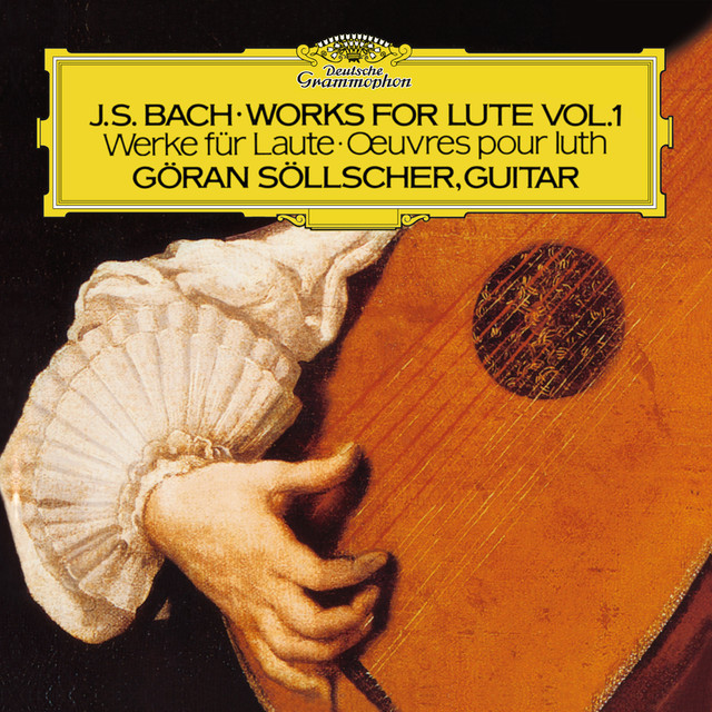 Bach, J.S.: Works For Lute Albumcover
