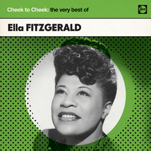 Ella Fitzgerald, Paul Weston Cheek To Cheek cover