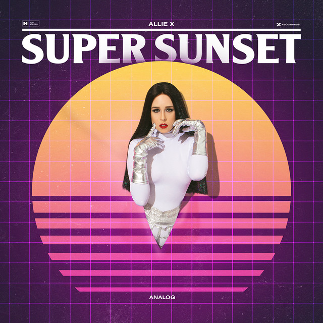 Album cover for Super Sunset (Analog) by Allie X