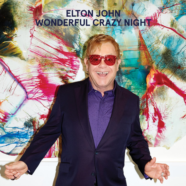 Album cover for Wonderful Crazy Night (Deluxe) by Elton John