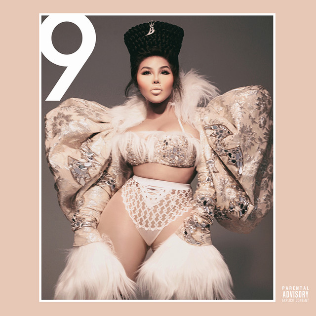 Album cover for 9 by Lil' Kim