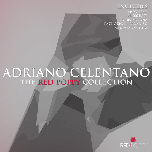 Adriano Celentano - The Red Poppy Collection Albumcover