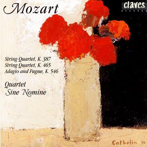Mozart: String Quartets K. 387 , K. 465 & K. 546 Albumcover