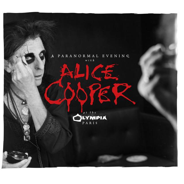 Alice Cooper A Paranormal Evening at the Olympia Paris album cover