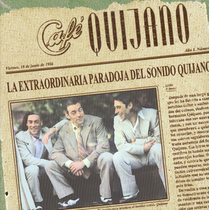 La Extraordinaria Paradoja del Sonido Quijano album
