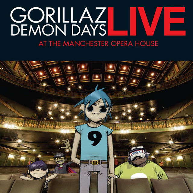 O Green World Live At Manchester Opera House A Song By Gorillaz