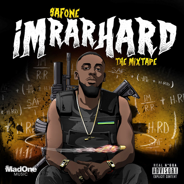 Album cover for Im Rar Hard The Mixtape by Safone