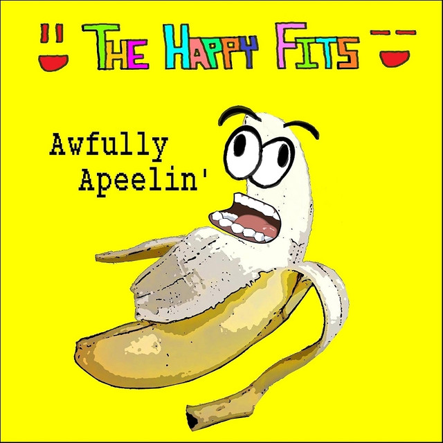 Album cover for Awfully Apeelin' by The Happy Fits