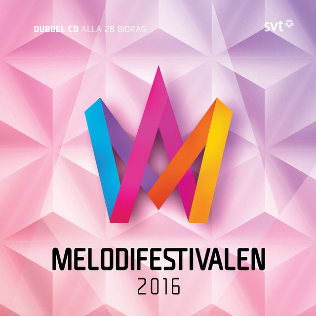 Album cover for Melodifestivalen 2016 by Various Artists