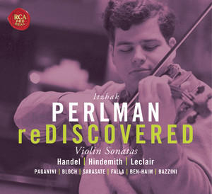 Perlman reDiscovered Albumcover