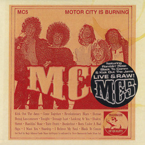 Motor City is Burning album